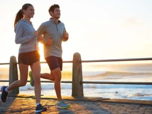 Running with a partner