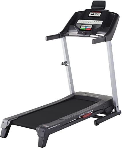 proform treadmill with white background on running wilder