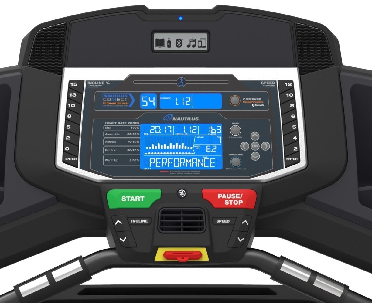 nautilus t618 console and functions